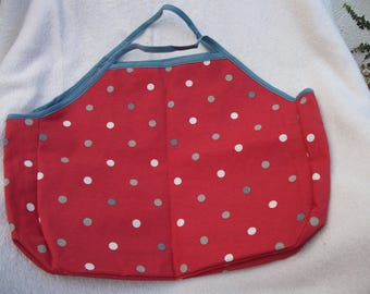 Bag for shopping red dots