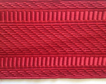 Braid old red manufacturing silk French