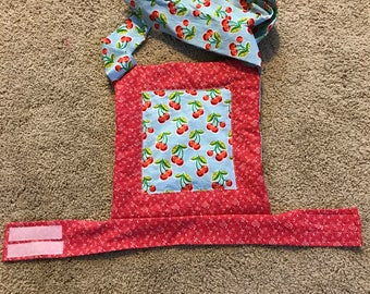 Cherries- Baby doll carrier