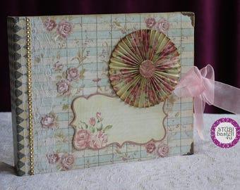 Scrapbook, photo album, mini album,