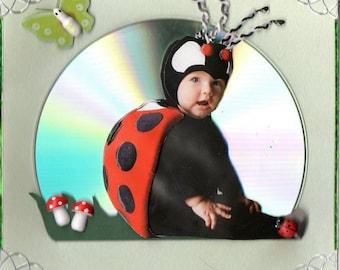 Baby Ladybug 3D card