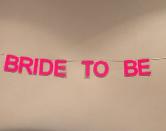 Banner - Bride to be - hen do party
