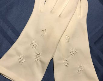 Vintage Fownes Embraceable  gloves 7.5-8.5