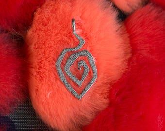 Fire Swirl pendant