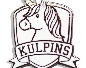 Kulpins B&W Hard Enamel Pin