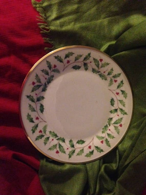 Like this item? & Lenox Holiday Dinner Plate Replacement