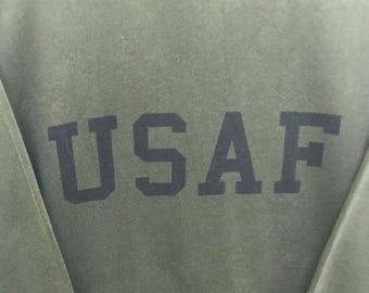Rare!!! USAF Pullover Spellout