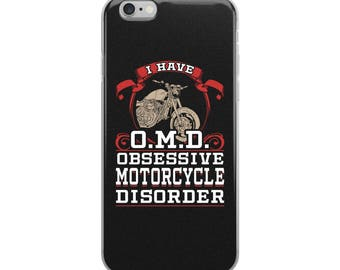 Motorcycle iPhone Case - Motorcycle Phone Cases - Motorcycle Gifts - Biker Phone Case - Motorbike Phone Case