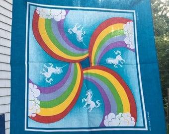Vintage Unicorn Bandana