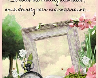 Godmother collection soft message 2 magnet