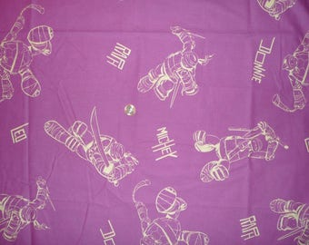 "Kids cotton fabric ""Turtles"""