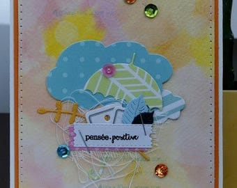 Card 'positive thinking'