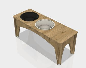 Montessori inspired Baltic Birch Wood Wash Station Table