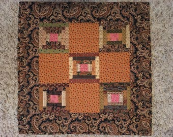 Courthouse Step Little Quilt