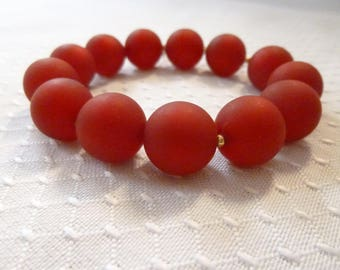 Gorgeous red bracelet