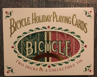 Unopened Vintage Holiday Playing Cards