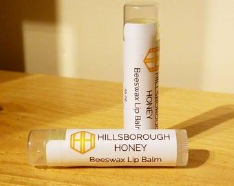 Hillsborough Honey Beeswax Lip Balm