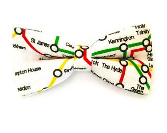 Tube Map Bow Tie