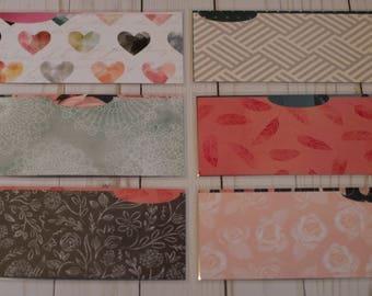 Laminated Cash Envelopes - Stardust Love