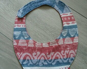 Handmade / bandana bib for boy / baby girl