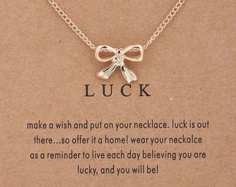 "Necklaces for woman ""Luck"""