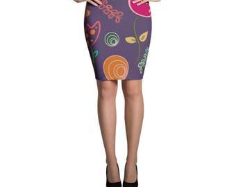 Sandria Pencil Skirt