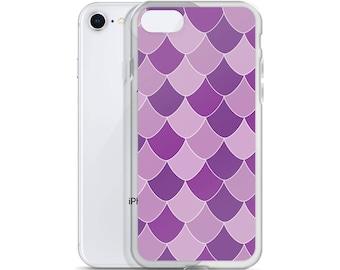 Purple Mermaid ScaleiPhone Case