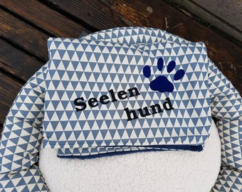 dog blanket with name or motive