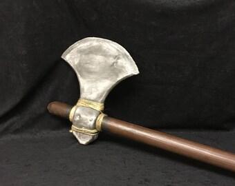 cosplay Medieval axe.