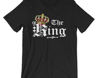 King & Queen Couple T-Shirt
