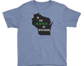 Woods of Wisconsin Kids Shirt