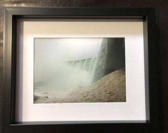 Wall Decor Winter Waterfall: Color Photograph