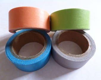 Set of 4 masking / wasking multicolor tape