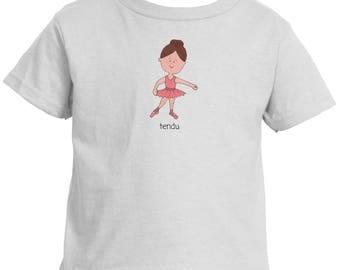 Toddler Ballet T-Shirt Tendu