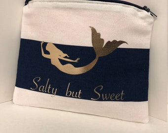 Salty But Sweet Mermaid Pouch