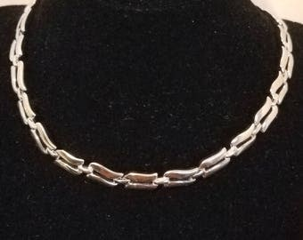 MONET Silver tone necklace