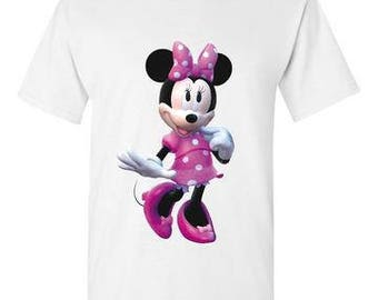 Minnie Mouse White T-Shirt