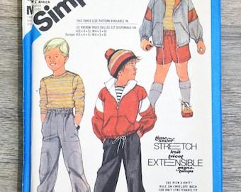 Simplicity 6564 - sportswear sewing pattern clutch