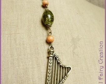 "Necklace ""Celtic harp"""