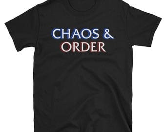 Chaos & Order (Law and Order) - Short-Sleeve Unisex T-Shirt
