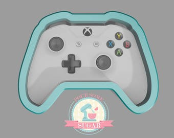 Game Controller X Cookie Cutter