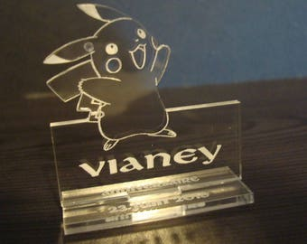 Pokemon brand place 2004 with engraving