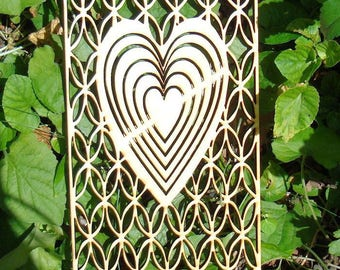 2069 by 8 mm heart cut out wood for your creation