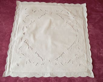 Beautiful Cushion cover with embroidery and days