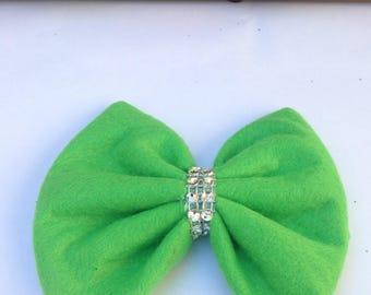Christmas Bow, Green