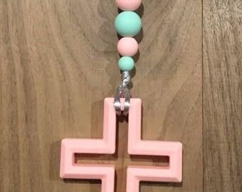 Cross Teething Pendant