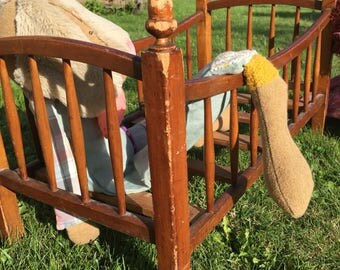 Wooden cradle for MOM!