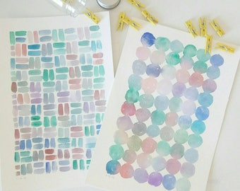 Bubbles and squares