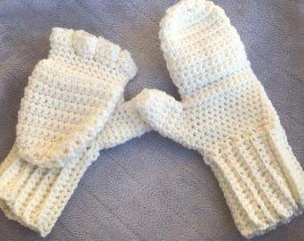 """Crochet """"Glittens"""""""
