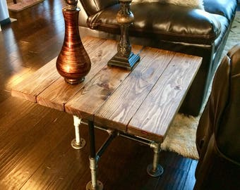Industrial End tables